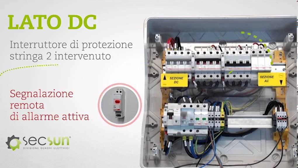 Schemi Elettrici Quadro : Quadro elettrico unico box plus youtube