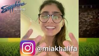 Come See The Beautiful Instagram Sensation & Sports Personality @miakhalifa Live In person!