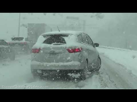 Metro Chicago, IL Lake Effect Extreme Winds And Blowing Snow - 2/15/2021