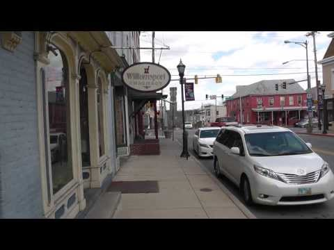 Williamsport Maryland; A Town on the Edge of History
