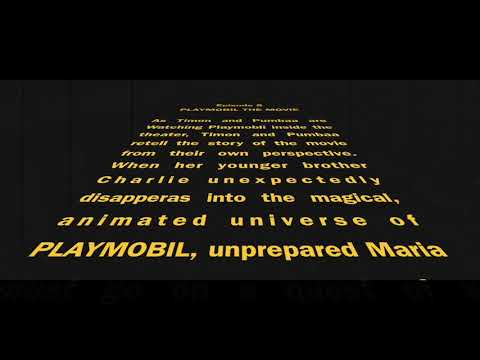 Timon And Pumbaa At The Movies Episode 8: Playmobil The Movie Opening Crawl