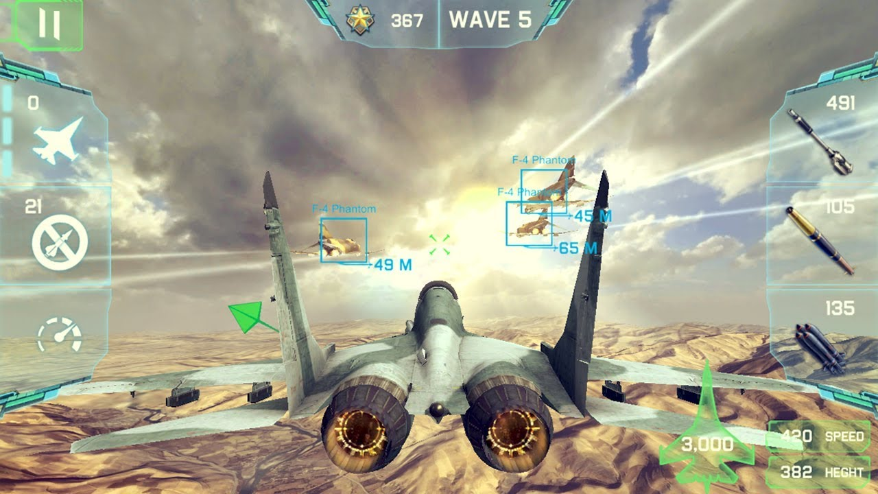 Ace Fighter Modern Air Combat (by Parsis Games) Android Gameplay [HD]