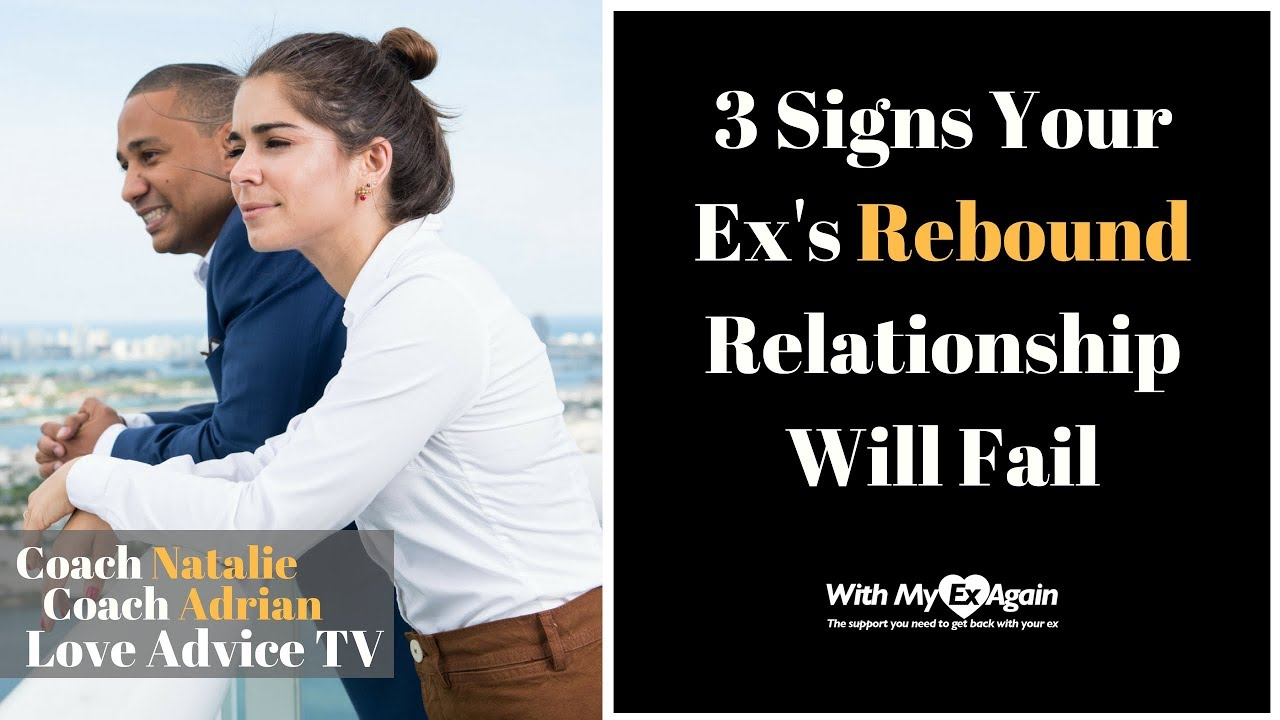 Dating on the rebound signs