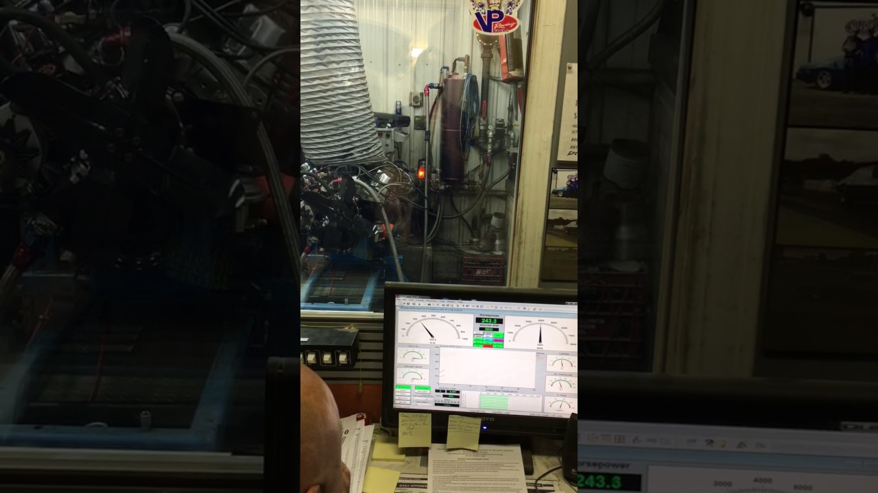 Dyno 302 with Edelbrock E street power package