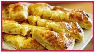 Ленивые ХАЧАПУРИ с сыром на сковороде.Из серии быстрых рецептов за  10 минут