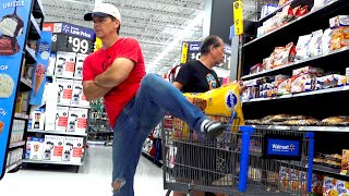 THE POOTER - Farting at Walmart!