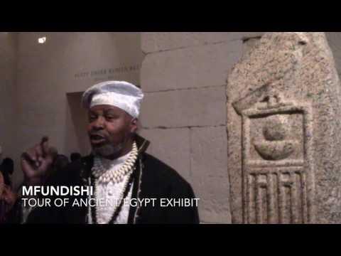 Mfundishi Tour of Ancient Kemet (Egyptian) Exhibit
