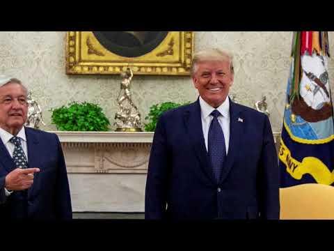 Mexico's president lauds Trump despite past insults