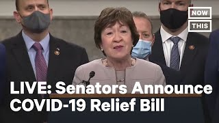 Bipartisan Group of Senątors Announce COVID-19 Relief Bill | LIVE | NowThis