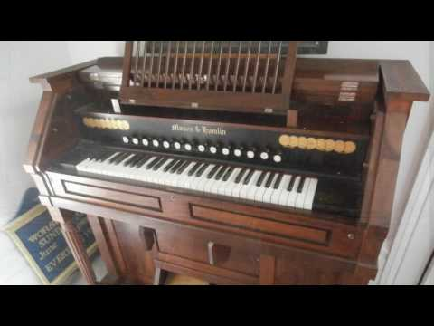 Mason and Hamilin Pump Reed Organ