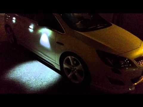 Opel Astra J Tuning led maniglie e specchietti
