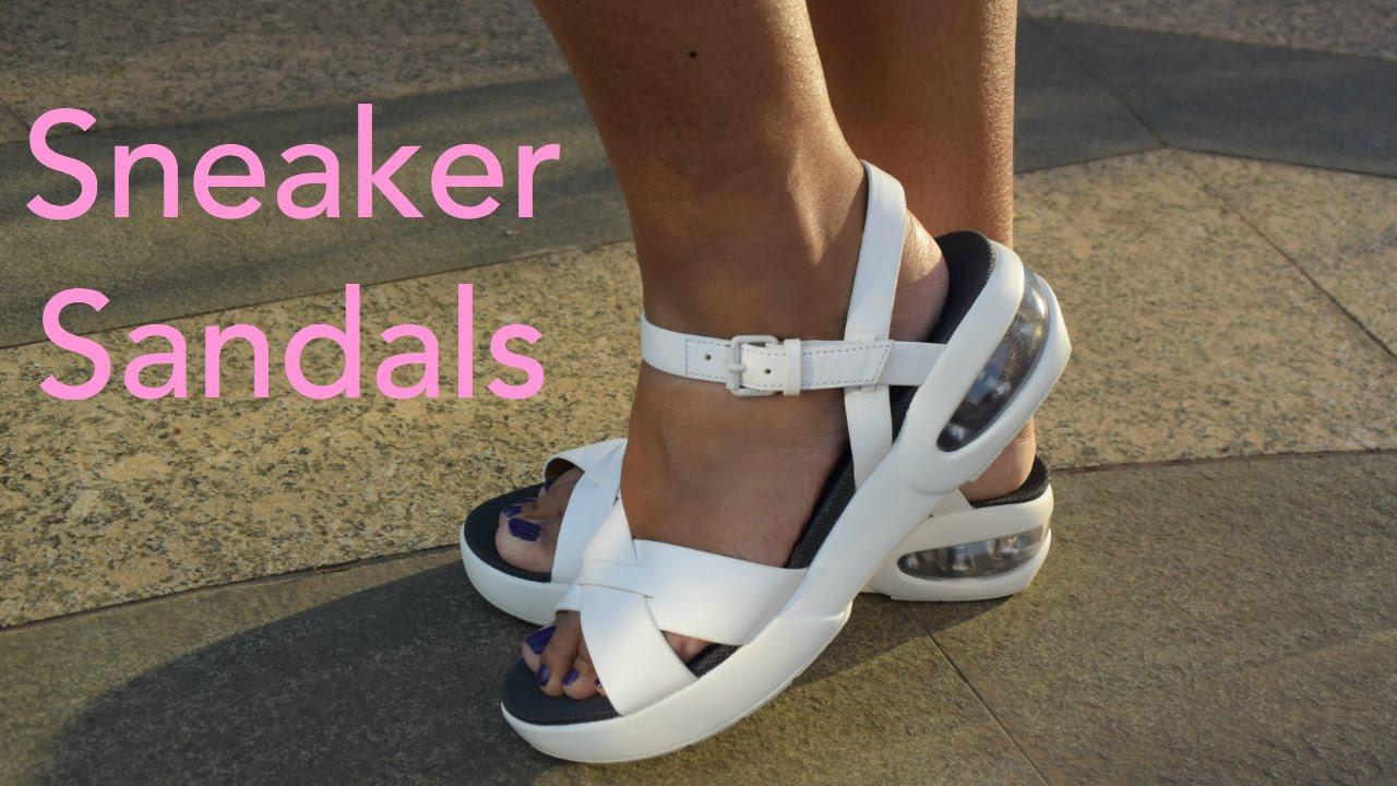 Refresh Beston AB42 Women's Sport Wedge Platform Sneaker Sandals ...