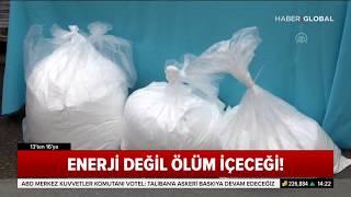İstanbul'da Sahte Enerji İçecekleri Yakalandı