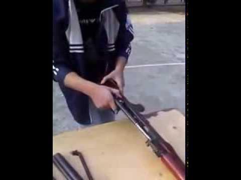 Tháo và lắp súng tiểu liên AK-47 level vip