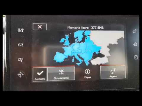 Aggiornamento Mappe EUROPA 2017.2 per Sistemi eMyWay RT6, SMEG, SMEG+, SMEG+iv2 PEUGEOT CITROEN