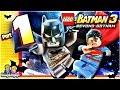 LEGO BATMAN 3 - Walkthrough Part 1 Pursuers in the Sewers!