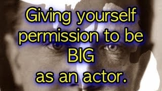 Giving Yourself Permission to be BIG