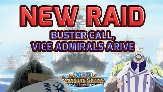 New Buster Call Raid With Four Bosses! [one Piece Treasure Cruise]