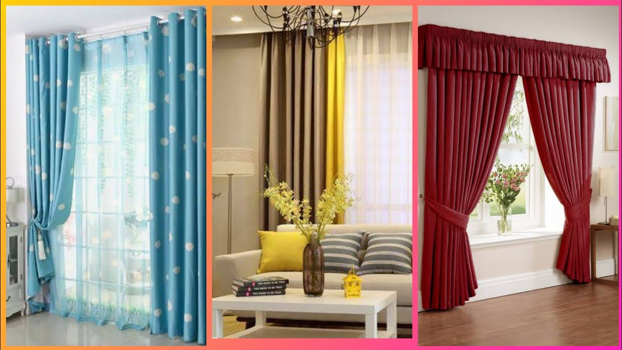 Living room curtain designs 20 😍 Modern curtains for drawing room