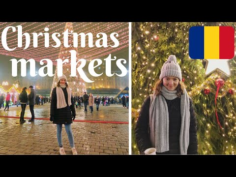 CHRISTMAS MARKETS IN BUCHAREST (trying traditional Romanian food)