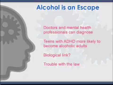 ADHD, ADD and Alcoholism