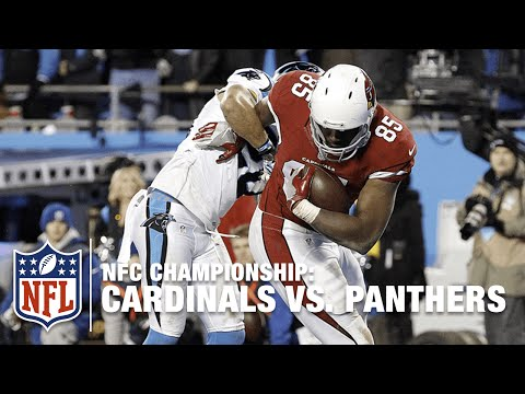 Carson Palmer Flings Pass to Darren Fells for 21-Yard TD! | Cardinals vs. Panthers | NFL