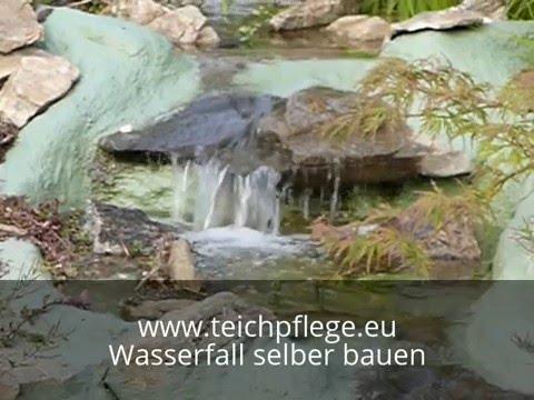 Wasserfall Video zur Bauanleitung | Teichpflege