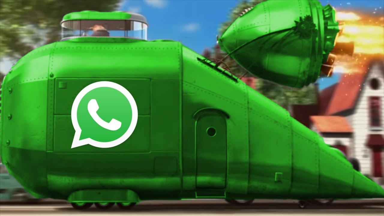 Gru Cruisin' in the WhatsApp car
