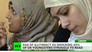 Age of Illiteracy: Shocking 20% UK youths struggle to read