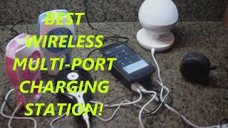 Morecoo Intelligent 8-port USB Wireless Charger PowerPort
