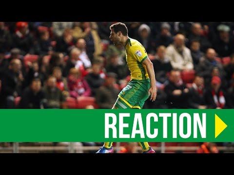 Bristol City 1-1 Norwich City: Yanic Wildschut Reaction