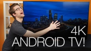 01. Sony 49X830C - A 4K TV running Android!