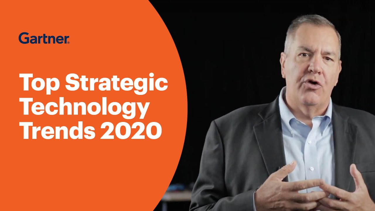 Top Technology Trends 2020.Gartner Top 10 Strategic Technology Trends For 2020