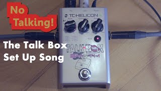 Tc Helicon Talk Box Synth - How To Set Up + Demo (A Song)