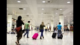 入境美国如何填表和站队?