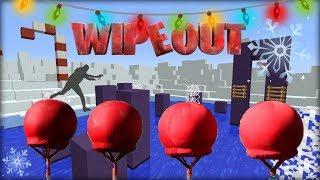 Wipeout v Minecraftu! - VÁNOČNÍ WIPEOUT na DT 2017!  ZMRZLÉ DRŽKY! :D