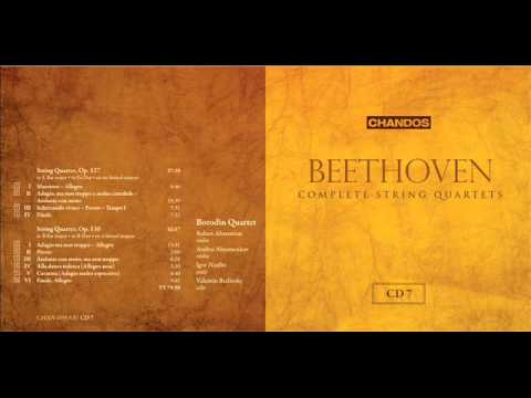 Borodin Quartet plays Beethoven String Quartet Op.127 & 130