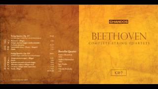 Borodin Quartet plays Beethoven String Quartet Op.127 & 130