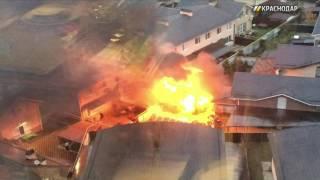 В Краснодаре сгорела баня(, 2016-10-28T12:26:39.000Z)
