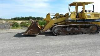 1993 Komatsu D66S-1 track loader for sale | sold at auction July 26, 2012