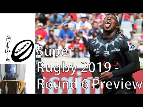 Super Rugby Round 6 Preview - Predictions And Fantasy Teams