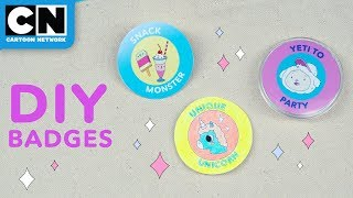 DIY Pins in 3 Easy Ways | Summer Of Creativity | Cartoon Network