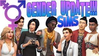 SIMS 4 UPDATES GENDER SETTINGS! - Trans, Clothing Pref. & More!!! PROGRESSIVE UPDATE!