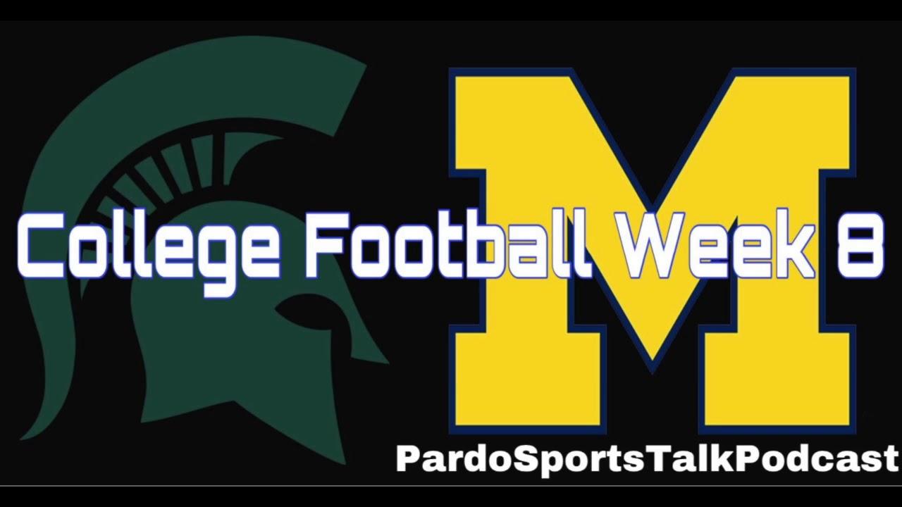 Pardo Sports Talk Podcast | College Football Week 8