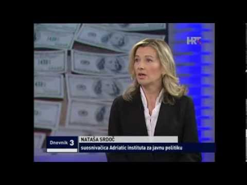 Natasha Srdoc - HTV: Croatia's $15.2 bn (25% GDP) illicit financial outflows via crime/corruption
