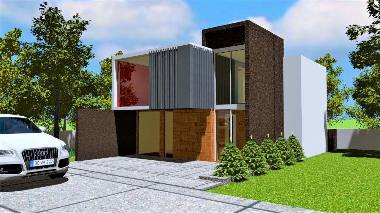 2 Bedroom modern house interior and exterior tour    2019 best home
