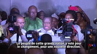 Le nouveau président prête serment en Sierra Leone (vidéo)