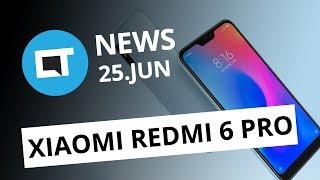 Xiaomi Redmi 6 Pro e Mi Pad 4; Troca de teclados do MacBook de graça e+ [CT News]