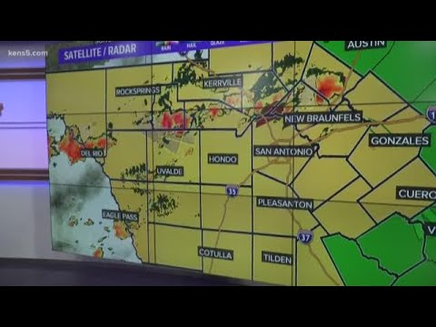 Flash Flood warning issued in Bexar County