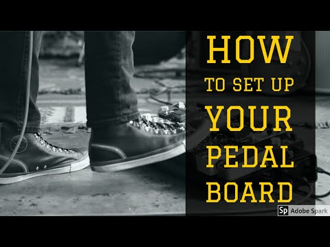 how to set up your guitar pedal board get the most out of your guitar pedals youtube. Black Bedroom Furniture Sets. Home Design Ideas
